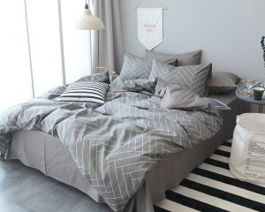 3 Piece Luxury Cotton Bedding Collection with 2 Pillow Shams Starting at Only $30.75