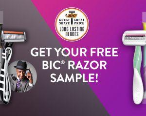 Saturday Freebies – Free Bic Razor