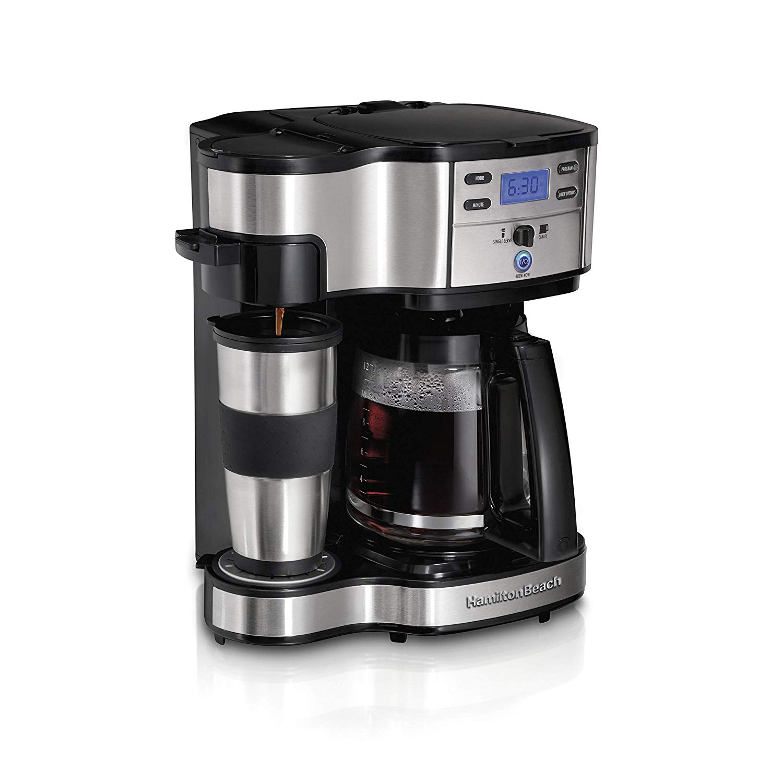 Hamilton Beach 49980A 2-Way Brewer Coffee Maker, Single ...