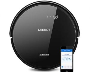 ECOVACS DEEBOT 601 Robotic Vacuum Cleaner with App Control $189.99