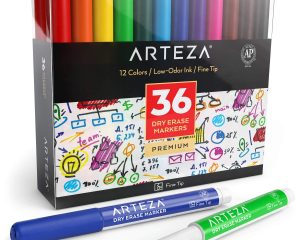 Save up to 35% on Arteza Dry Erase Markers
