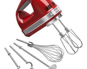 KitchenAid KHM926ER Empire Red 9-Speed Hand Mixer $59.99