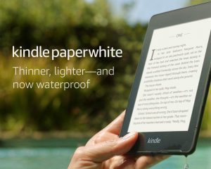 All-new Kindle Paperwhite – Now Waterproof with 2x the Storage – Includes Special Offers + Kindle Unlimited (with auto-renewal) $89.99