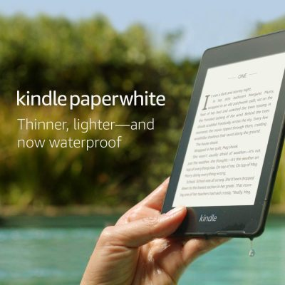 All-new Kindle Paperwhite – Now Waterproof with 2x the