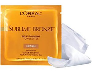 Saturday Freebies – Free Sample of L'Oreal Sublime Bronze Self-Tanning Towelettes