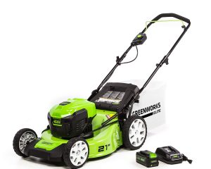 Save up to 32% on Greenworks Elite Lawn Tools