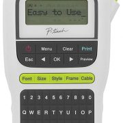 Brother P-touch, PTH110, Easy Portable Label Maker, Lightweight, QWERTY Keyboard $9.99