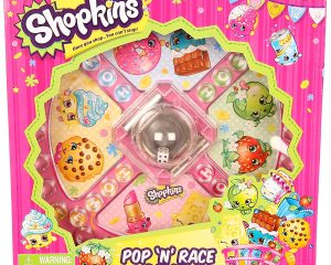 Shopkins Pop N Race Game $2.48
