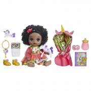 Baby Alive Once Upon a Baby: Forest Tales Forest Mia (Black Curly Hair) $15