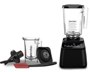 BLENDTEC DESIGNER 650 WITH WILDSIDE+ JAR AND TWISTER JAR BLENDER ONLY $299.99