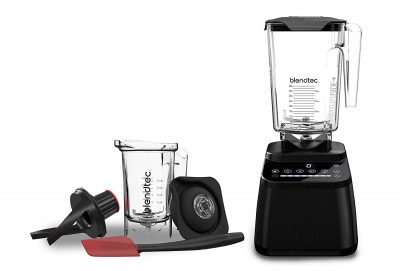 Blendtec Designer 650 With Wildside Jar And Twister Jar Blender Only 29999