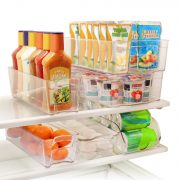 Greenco 6 Piece Refrigerator and Freezer Storage Organizer Bins Only $23.62