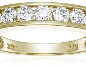 Save 25% on Diamond Wedding Bands in Solid Gold