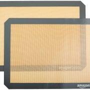 AmazonBasics Silicone Baking Mat Sheet, Set of 2 $8.38