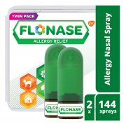 Flonase Allergy Relief Nasal Spray, Allergy Medicine 24 Hour Non-Drowsy , 288 sprays (pack of 2) $23.99