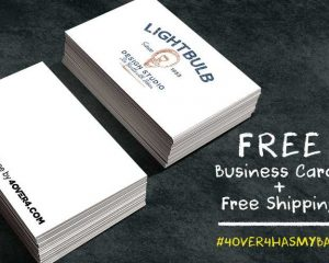 Tuesday Freebies-Free Custom Business Cards
