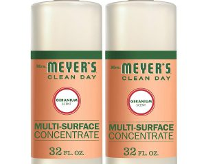 Mrs. Meyer's Clean Day Multi-Surface Concentrate, Geranium, 32 fl oz, 2 ct $9.30