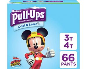 PULL-UPS COOL & LEARN, 3T-4T (32-40 LB.), 66 CT. $15.04