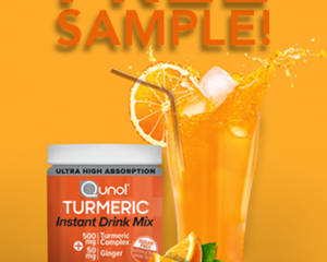 Saturday Freebies – Free Single-Serving Sample of Qunol Turmeric Instant Drink Mix