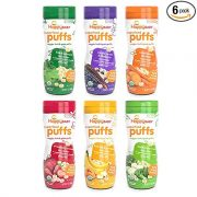 Happy Baby Organic Superfood Puffs Assortment Variety Packs 2.1 Ounce (Pack of 6) $14.09