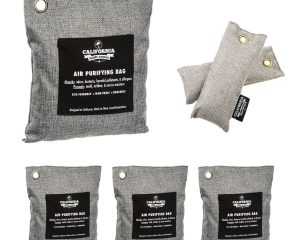 6 Pack – Activated Charcoal Deodorizer Odor Neutralizer Bags Complete Pack $16.96