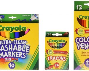 Save up to 40% on select Back to School essentials from Crayola
