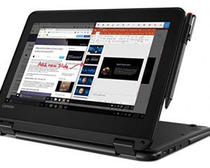 Lenovo wt-81FY000SUS 300e Winbook Touchscreen LCD 2 in 1 Notebook $239.99