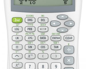 Texas Instruments TI30XIISWHITE 2-Line Scientific Calculator $8.97