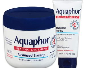 Aquaphor Healing Ointment Multipack – Moisturizing Skin Protectant For Dry Cracked Hands, Heels and Elbows – 14 Ounce jar + 1.75 Ounce tube Set $15.21