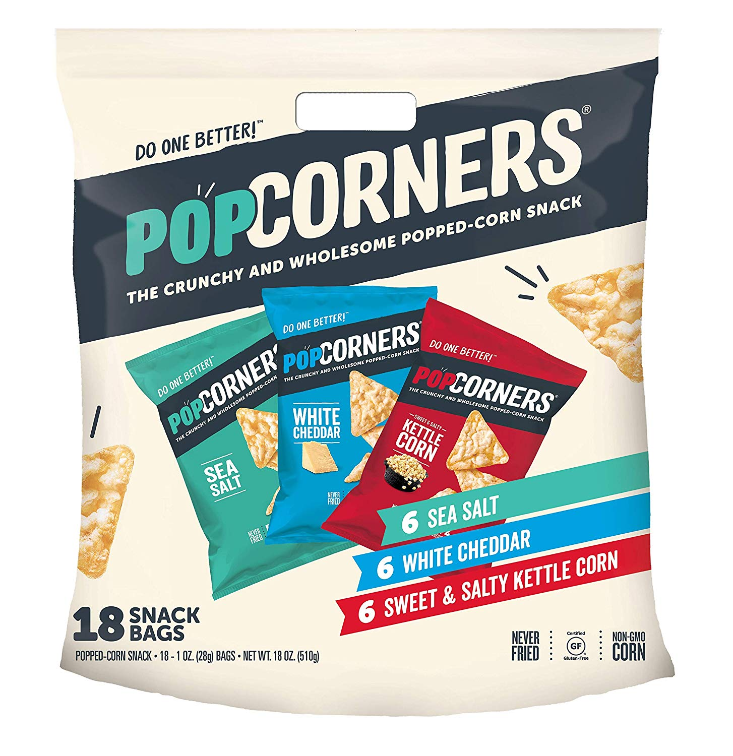 PopCorners Gluten Free Chips Snack Packs (Variety Pack ...