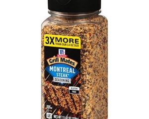 McCormick Grill Mates Montreal Steak Seasoning, 11.62 Ounce $5.98