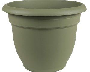 Bloem 20-56406 Fiskars 6 Inch Ariana Planter with Self-Watering Grid, Thyme Green $2.87