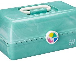 Caboodles On-the-Go Girl Sea Foam Marble $12.97