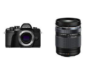 Olympus OM-D E-M10 Mark III Camera Body (Black), Wi-Fi Enabled, 4K Video with 14-150mm F4.0-5.6 II Lens $799.99