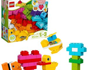 LEGO Duplo My First Bricks 10848 Colorful Toys Building Kit for Toddler Play and Pretend Play (80 Pieces) $11.99