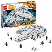 LEGO Star Wars Solo: A Star Wars Story Kessel Run Millennium Falcon 75212 Building Kit and Starship Model Set, Popular Building Toy and Gift for Kids (1414 Pieces) $109.99