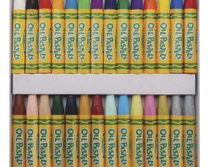 Crayola Oil Pastels, 28 Brilliant Opaque Colors $3.97