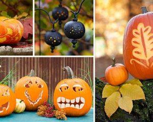 Friday Freebies-Free Easy Pumpkin Carving Ideas & Stencils