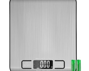 Etekcity Food Digital Kitchen Weight Scale Grams and Oz, Backlit, Stainless Steel(2019 Upgraded) $8.95