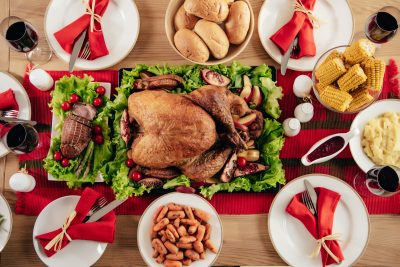 Save your money for Black Friday! Here are my 8 best tips for saving money on Thanksgiving dinner (without starving your guests!).
