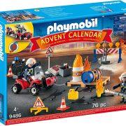 PLAYMOBIL Advent Calendar – Construction Site Fire Rescue $16.49