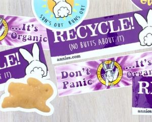 Friday Freebies-Free Annie's Homegrown Stickers