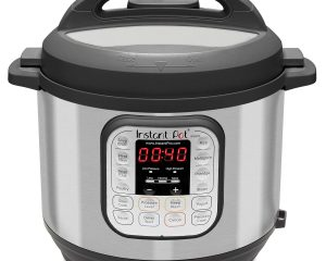 INSTANT POT DUO80 8 QT 7-IN-1 MULTI- USE PROGRAMMABLE PRESSURE COOKER, SLOW COOKER, RICE COOKER, STEAMER, SAUTÉ, YOGURT MAKER AND WARMER $64.99