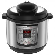 Instant Pot LUX80 8 Qt 6-in-1 Multi- Use Programmable Pressure Cooker, Slow Cooker, Rice Cooker, Sauté, Steamer, and Warmer $54.99