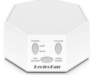 LECTROFAN HIGH FIDELITY WHITE NOISE SOUND MACHINE WITH 20 UNIQUE NON-LOOPING FAN AND WHITE NOISE SOUNDS AND SLEEP TIMER $38.99