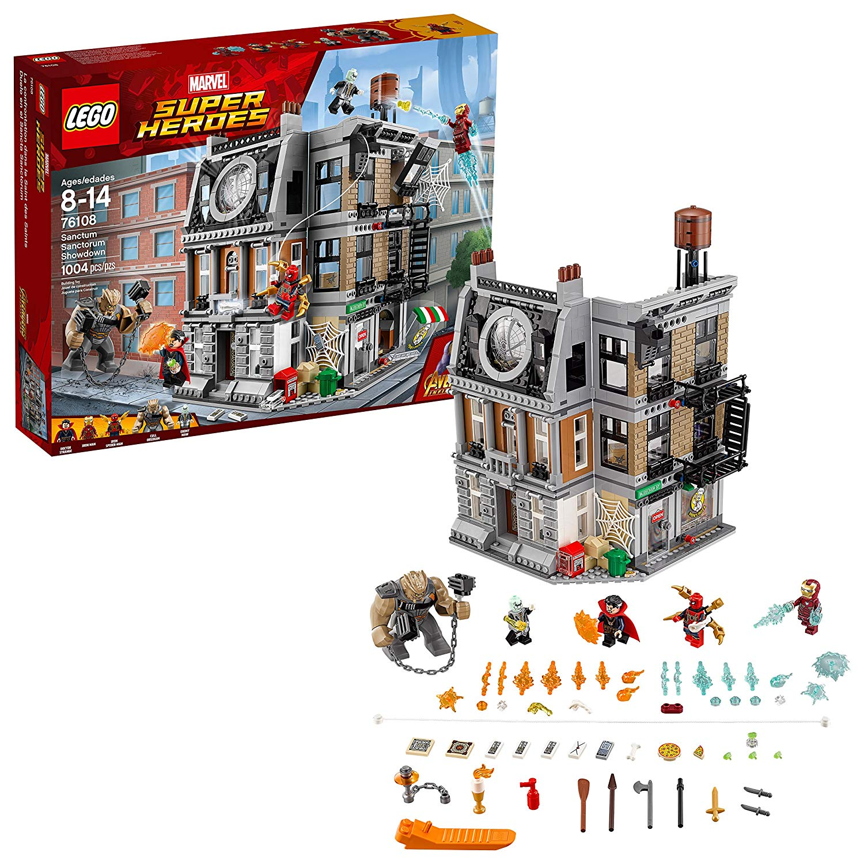 LEGO Marvel Super Heroes Avengers: Infinity War Sanctum ...