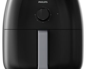 Philips Twin TurboStar Technology XXL Airfryer with Fat Reducer, Analog Interface, 3lb/4qt, Black – HD9630/98 $109.99