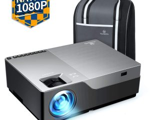 VANKYO Performance V600 Native 1080P LED Projector, 6000 Lux HDMI Projector with 300″ Display $174.99