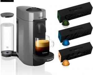 Nespresso VertuoPlus Coffee and Espresso Machine Bundle by De'Longhi $99.99