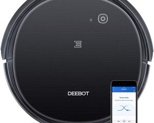 ECOVACS DEEBOT 500 Robotic Vacuum Cleaner with Max Power Suction  $134.99
